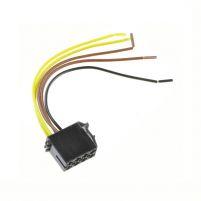 RK04119 * Колодка питания к радиоаппаратуре (с проводами сечением 0,5 кв.мм, длина 120 мм)