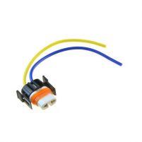 RK04126 * Разъем под лампы H8, H11, H27/2 керамический (с проводами сечением 0,75 кв.мм, длина 120 мм)