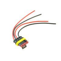 RK04128 * Разъем 4-х контактный к бензонасосу, датчику уровня топлива (ответная часть 282106-1, RK04108; с проводами сечением 0,5 кв.мм, длина 120 мм)