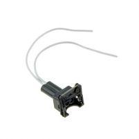 RK04132 * Разъем к форсунке для а/м 2108-21099,2110-2112 (с проводами сечением 0,5 кв.мм, длина 120 мм)