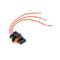 RK04133 * Разъем к датчику абсолютного давления масла, катушке и модулю зажигания (нового образца) (с проводами сечением 0,5 кв.мм, длина 120 мм)