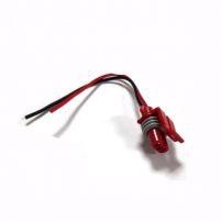 RK04161 * Разъем к адсорберу для а/м 2110-2112, 2113-2115, Газель, Соболь, Баргузин, Волга (с проводами сечением 0,5 кв.мм, длина 120 мм)
