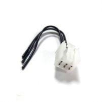 RK04168 * Разъем к прикуривателю для а/м 2110-2112, 2113-2115, 2170-2172,2190, 1117-1119 2123 (с проводами сечением 0,5 кв.мм, длина 120 мм)