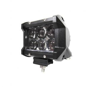 Светодиодная фара 18 Ватт 5D Дальнего света 9.5 см