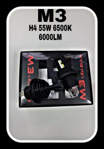 Светодиодная лампа серия M3 LED цоколь H4
