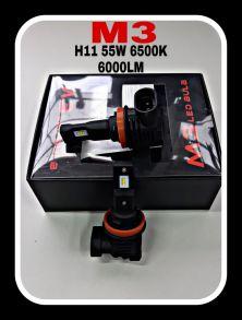 Светодиодная лампа серия M3 LED цоколь H11