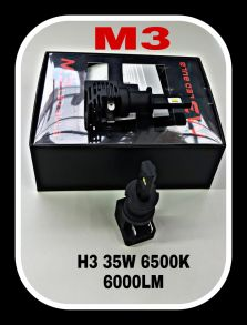 Светодиодная лампа серия M3 LED цоколь H3