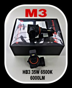 Светодиодная лампа серия M3 LED цоколь HB3
