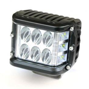 Светодиодная фара PRO рабочего света 36 Вт с боковым засветом