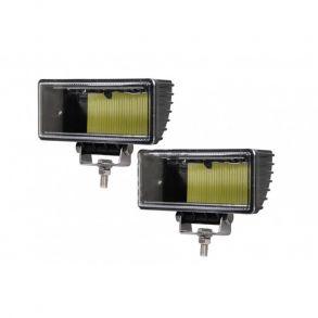 Комплект прямоугольных светодиодных фар 52W