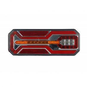 Левый светодиодный фонарь универсальный 10,6 Вт для грузовиков с подсветкой номера