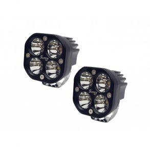 Светодиодные Фары 80W дальнего света (Комплект 2 шт)