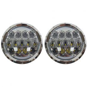 Светодиодные фары головного света 7 дюймов 210Вт CREE с ДХО и поворотниками