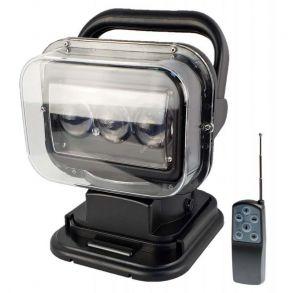 Светодиодный фара искатель 60 Ватт Д/У черный