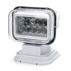 Светодиодный прожектор 50 Ватт Д/У 12/24 вольт для Катера и Лодки белый