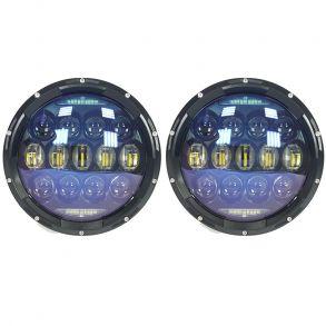 Светодиодные фары головного света 7 дюймов 260Вт OSRAM с ДХО и поворотниками