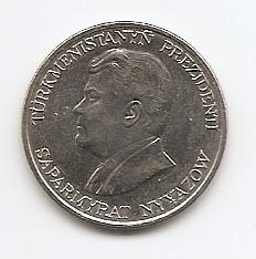 20 тенге(Регулярный выпуск) Туркмения 1993