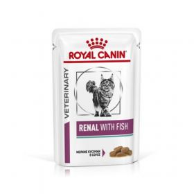Влажный ветеринарный корм для кошек Royal Canin Renal Tuna (Ренал c тунцом) пауч 85г.