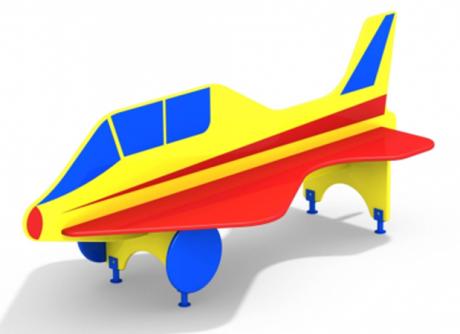 Лавочка со спинкой Самолет АМФ-1.22