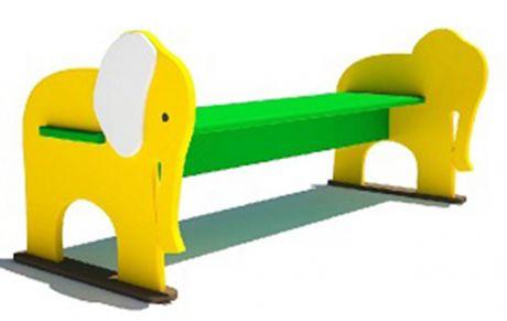 Скамейка детская Слон Л-13