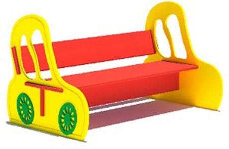 Детская скамейка Машинка Л-17