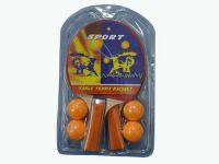 Набор для настольного тенниса. 2 ракетки, 4 шарика, артикул 11171