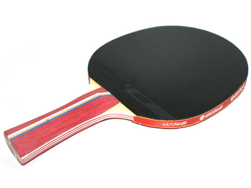 Ракетка для игры в настольный тенис Sprinter 2**, для развивающихся игроков, артикул 11058