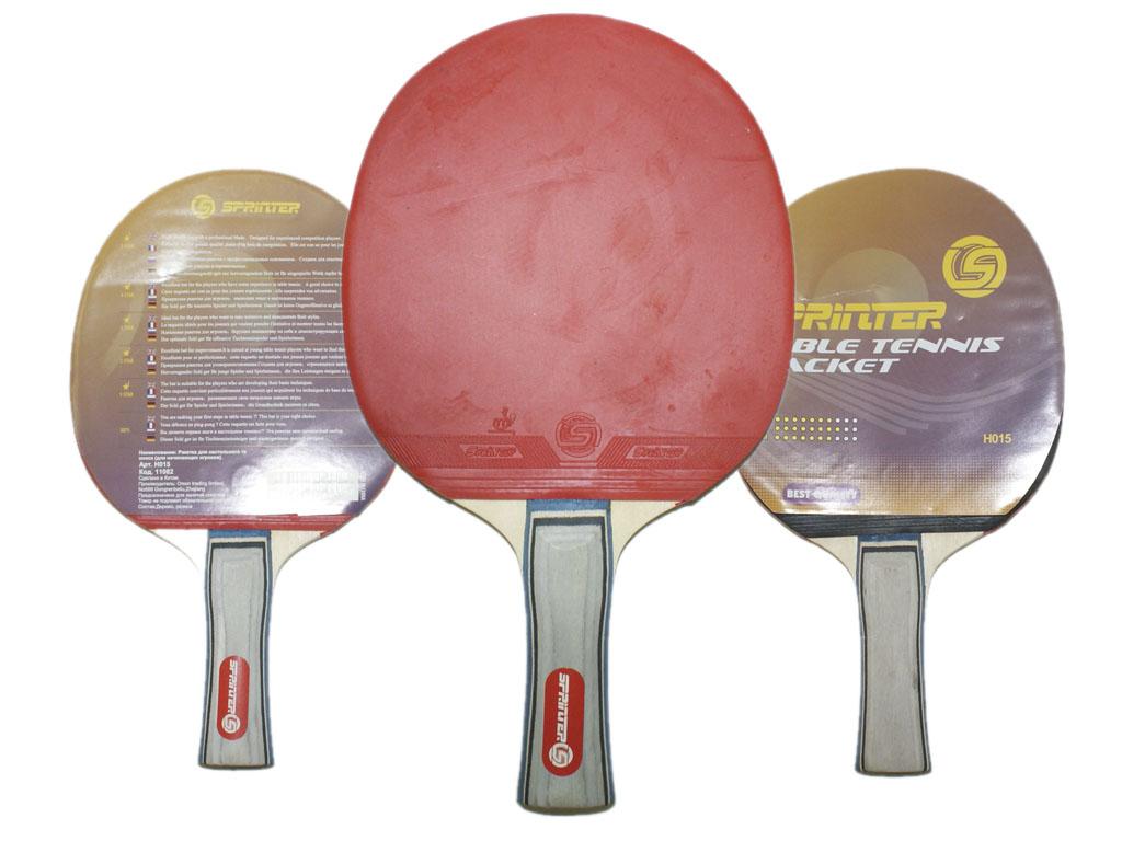 Ракетка для игры в настольный теннис для начинающих игроков, артикул 11082