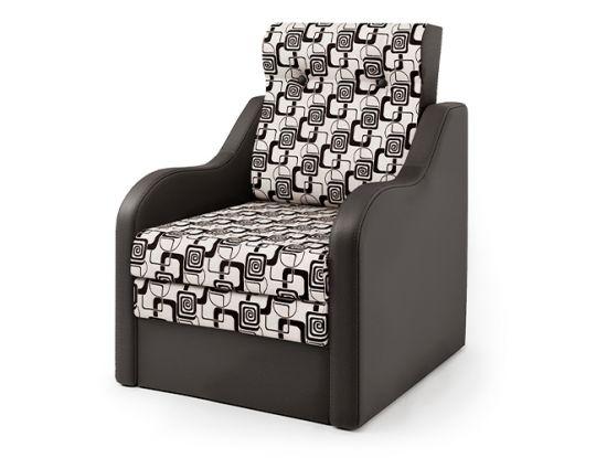 Кресло-кровать Классика-В шоколад и ромб