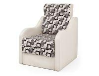 Кресло-кровать Классика-В экокожа беж и ромб
