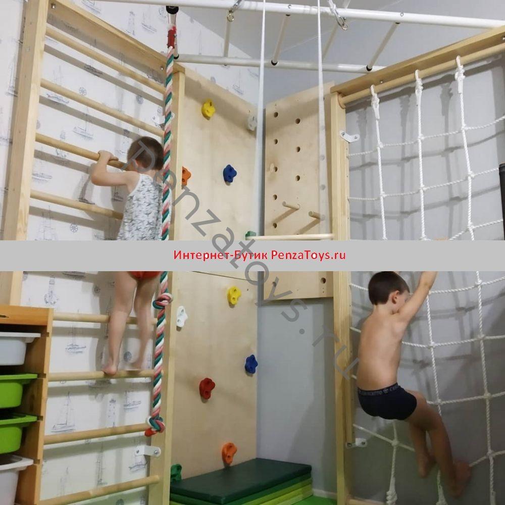 Угловой детский спорткомплекс Karussell Сorner