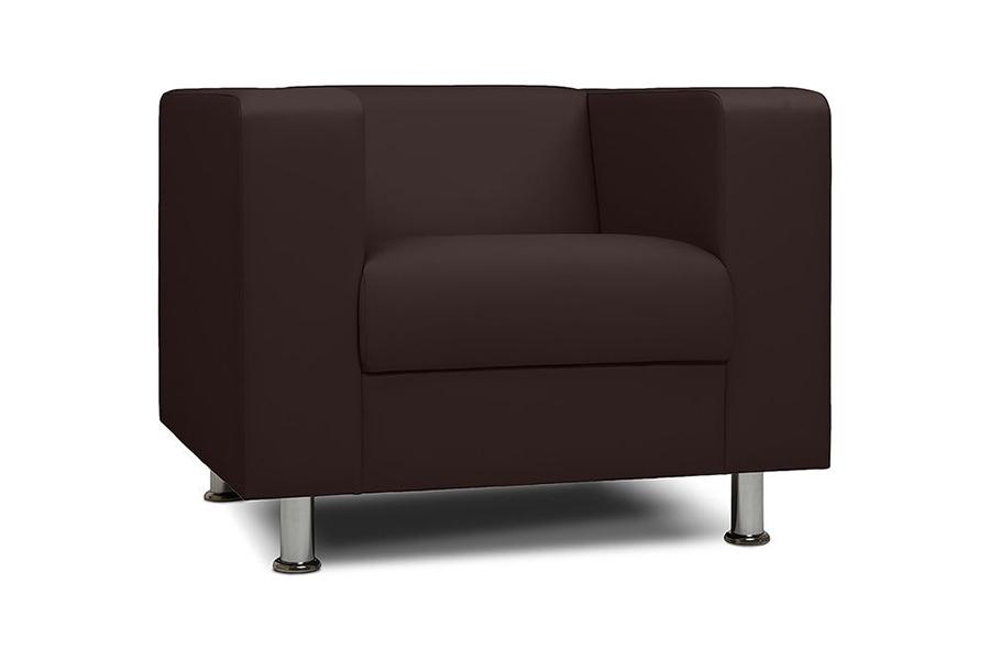 Кресло офисное Бит коричневый