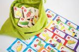 Лото детское - Ягоды фрукты овощи