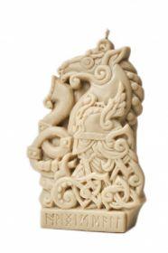Силиконовая форма для свечи Скандинавский бог Хеймдалль 13 см