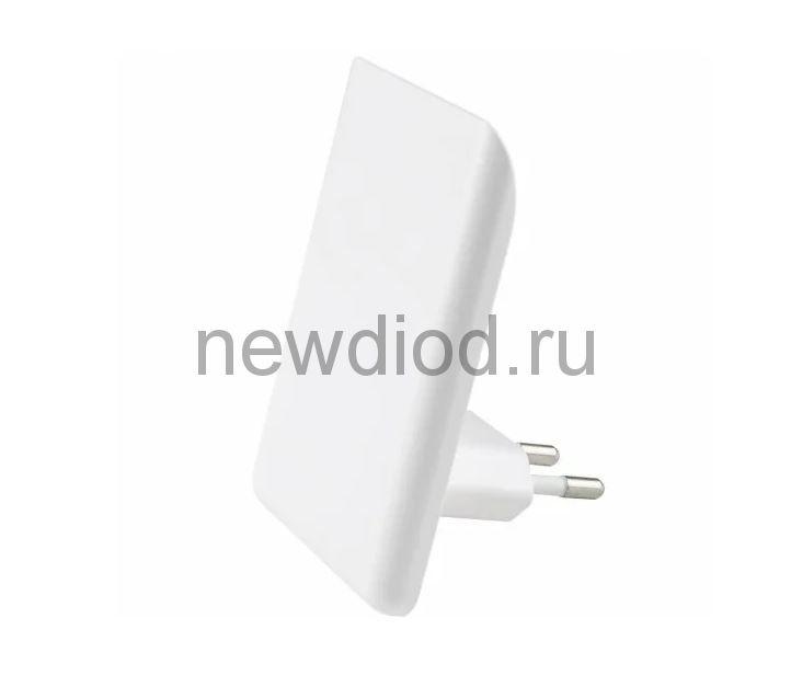 Светильник-ночник Прямоугольник/White/Sensor DTL-320 с фотосенсором (день-ночь) белый ТМ Uniel