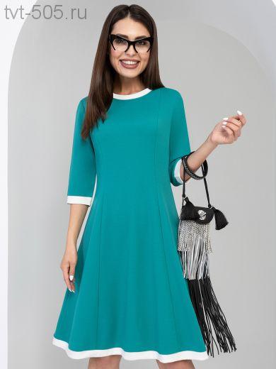 РАСПРОДАЖА! Платье нарядное женское аквамарин