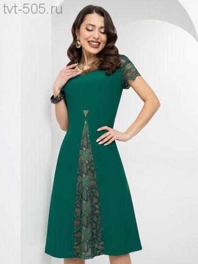 РАСПРОДАЖА! Платье нарядное женское зеленое
