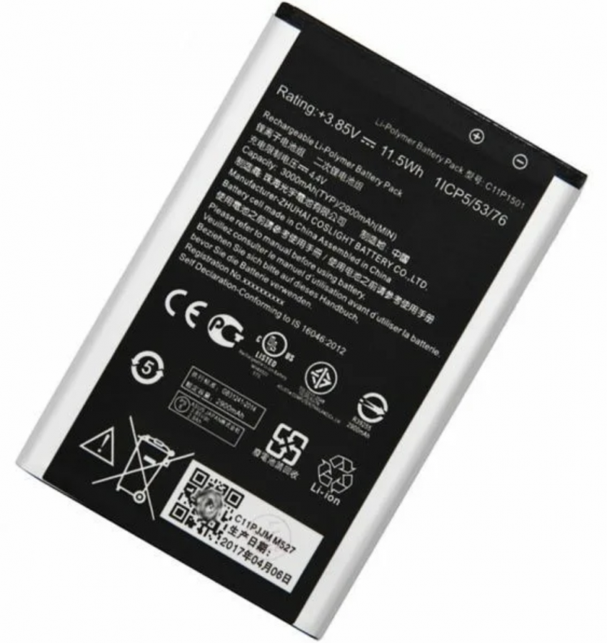 Аккумулятор Asus ZD551KL ZenFone Selfie/ZE550KL ZenFone 2 Laser/ZE551KL ZenFone 2 Laser/ZE601KL ZenFone 2 Laser (Z011D) (C11P1501) Аналог