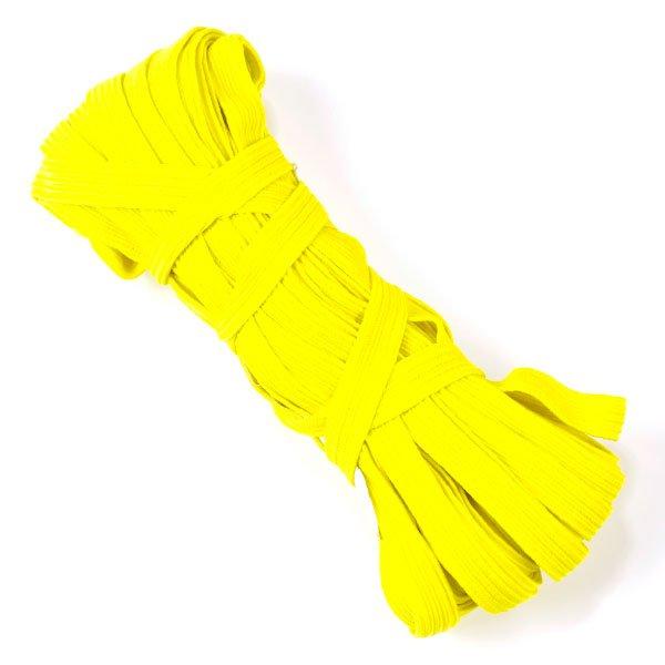фото Резинка простая (продержка) 10 мм., 10 метров в мотке  (РЕЗ.ШТ.10.желтый)