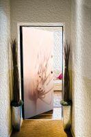 Наклейка на дверь - Пробуждение| магазин Интерьерные наклейки