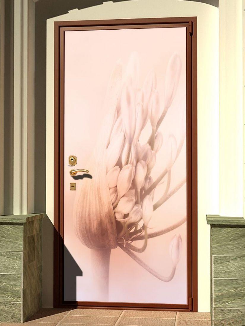 Наклейка на дверь - Пробуждение