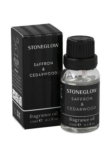 Ароматное масло Шафран и кедровое дерево 15мл StoneGlow Современная классика