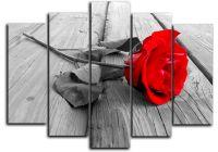 модульная картина роза купить