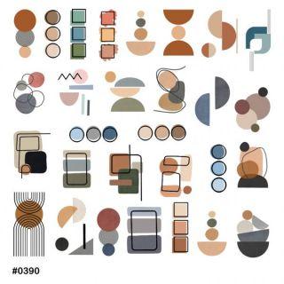 Слайдер-дизайн для ногтей № 0390