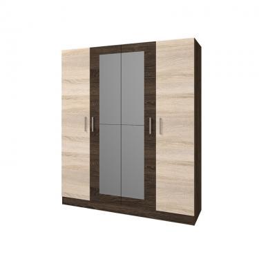 Шкаф 4-х створчатый Леси (Кантер-Сонома)