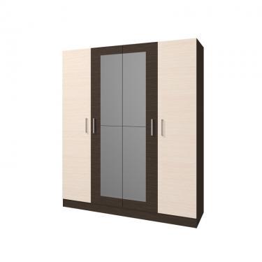 Шкаф 4-х створчатый Леси (Венге-Дуб)