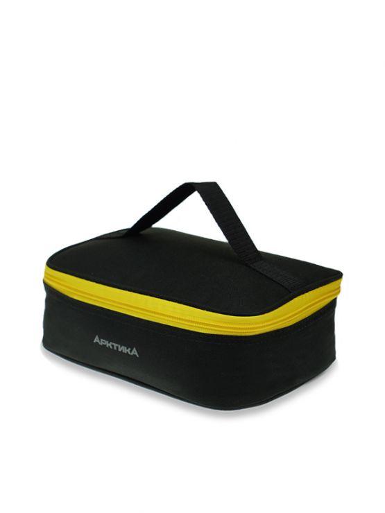 Ланч-сумка АРКТИКА 2,0 л 020-2000 черная с 1м контейнером изотермическая