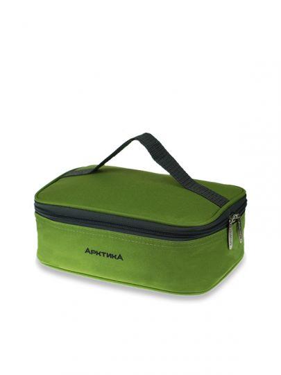 Ланч-сумка АРКТИКА 2,0 л 020-2000 зеленая с 2мя контейнерами изотермическая