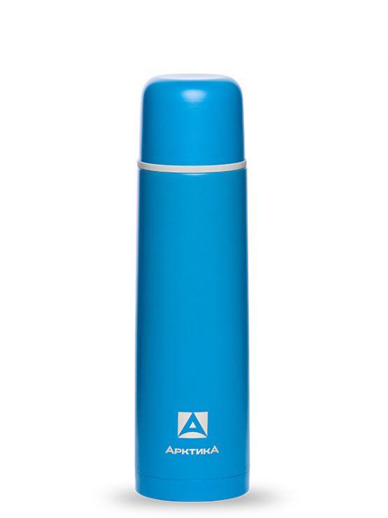 Термос АРКТИКА 102-1000 синий пластиковое напыление