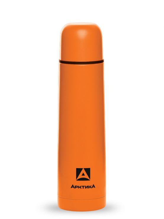 Термос АРКТИКА 102-750 оранжевый пластиковое напыление
